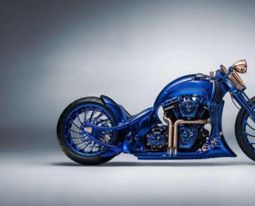 哈雷戴維森×寶齊萊:打造史上最貴摩托車