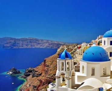 在蜜月天堂希臘 邂逅愛琴海雙島