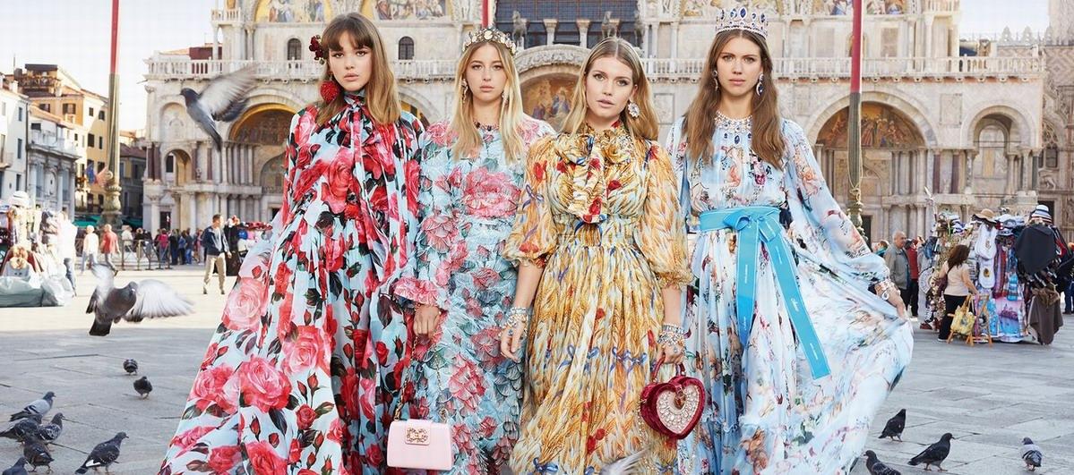 Dolce & Gabbana 2018春夏大片,带你漫游威尼斯